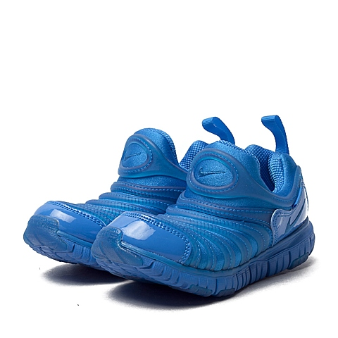 NIKE耐克童鞋 夏季新品专柜同款DYNAMO FREE (PS)男小童毛毛虫复刻鞋343738-410
