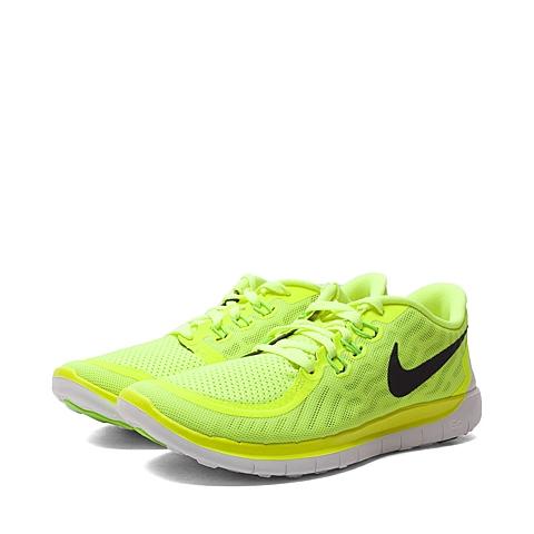 NIKE耐克童鞋 夏季新品专柜同款NIKE FREE 5.0 (GS)大童跑步鞋725104-700