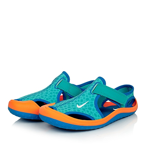 NIKE耐克童鞋 夏季新品专柜同款SUNRAY PROTECT (PS)男小童凉鞋344926-408