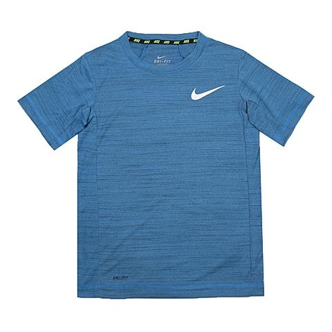 NIKE耐克童装 夏季新品专柜同款NIKE DF COOL SS TOP YTH男大童短袖针织衫641601-406