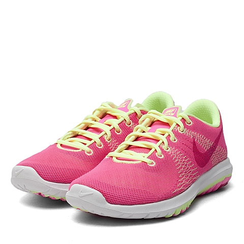 NIKE耐克童鞋 夏季新品FLEX FURY 女大童跑步鞋705460-600
