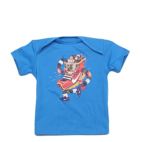 NIKE耐克 新款DASH GFX J SS TOP 1男婴童T恤644442-435