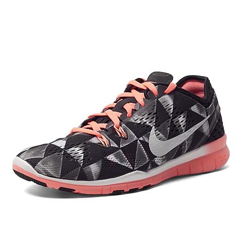 NIKE耐克 新款女子FREE5.0TR FIT 5PRT全能鞋704695-006