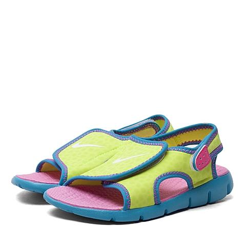 NIKE耐克 新款SUNRAY ADJUST 4女小童凉鞋386520-700