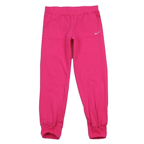 NIKE耐克 新款N40 J CUFF PANT女大童针织长裤588990-616