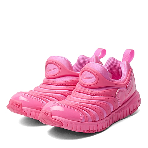 NIKE耐克 新款DYNAMO FREE女小童毛毛虫复刻鞋343738-612
