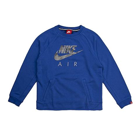 NIKE耐克 新款YA FT FLASH CREW男大童针织套头衫703639-480