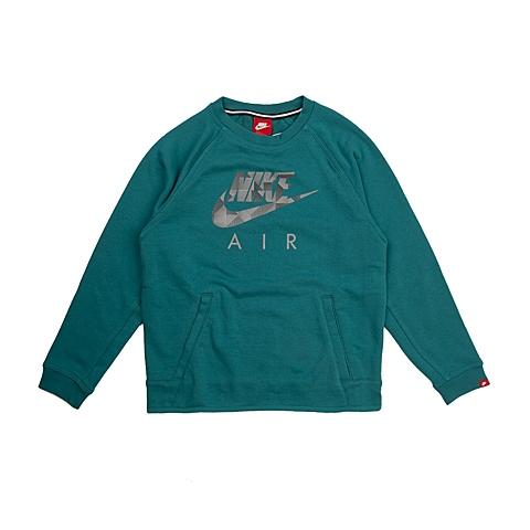 NIKE耐克 新款YA FT FLASH CREW男大童针织套头衫703639-309