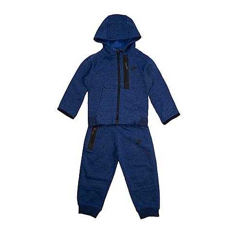NIKE耐克 新款TECH FLEECE TRACK SUIT男婴童套服678821-480