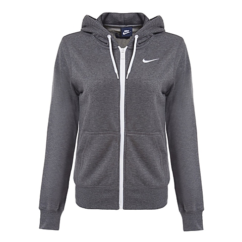 NIKE耐克 新款女子CLUB FT FZ HOODY-SWOOSH夹克638284-071