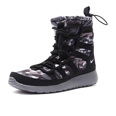 NIKE耐克 新款女子WMNS ROSHE ONE HI PRNT复刻鞋807425-001