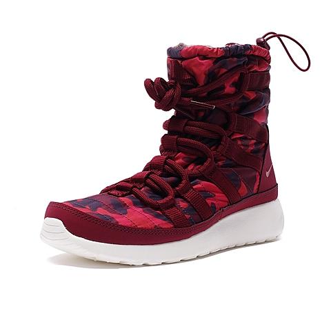 NIKE耐克 新款女子WMNS ROSHE ONE HI PRNT复刻鞋807425-600