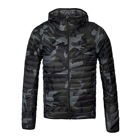 NIKE耐克 新款男子GUILD 550 JKT-HD PRNT羽绒夹克678282-037