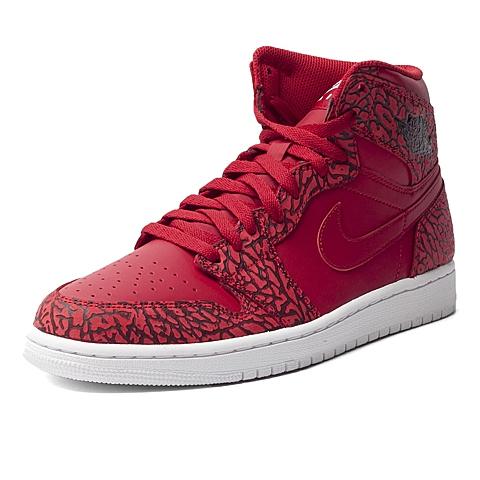 NIKE耐克新款男子AIR JORDAN 1 RETRO HIGH篮球鞋839115-600