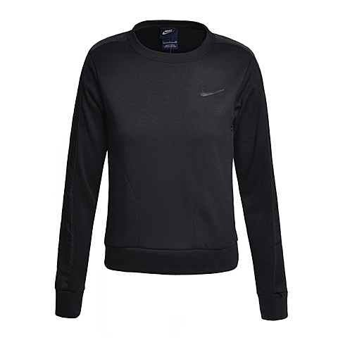 NIKE耐克新款女子ADVANCE 15 FLEECE CREW卫衣/套头衫810744-010