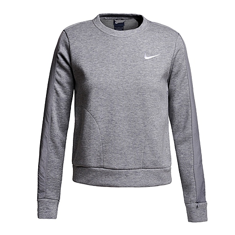NIKE耐克新款女子ADVANCE 15 FLEECE CREW卫衣/套头衫810744-063
