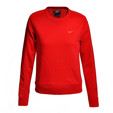 NIKE耐克新款女子ADVANCE 15 FLEECE CREW卫衣/套头衫810744-657