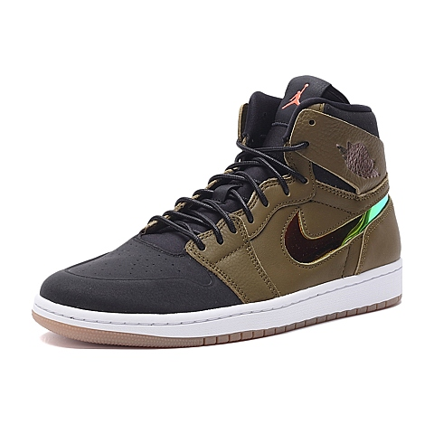 NIKE耐克新款男子AIR JORDAN 1 RETRO HIGH NOUV篮球鞋819176-306
