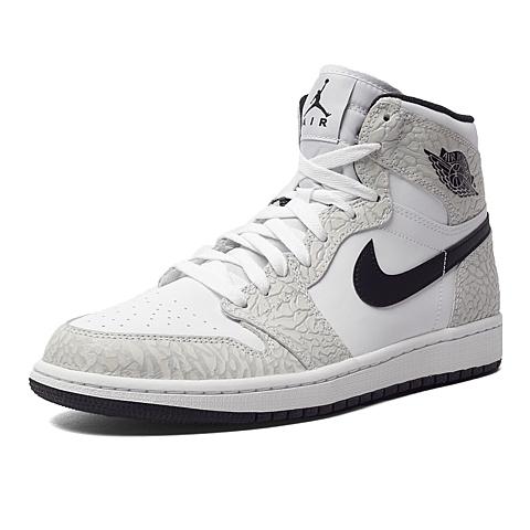 NIKE耐克新款男子AIR JORDAN 1 RETRO HIGH篮球鞋839115-106