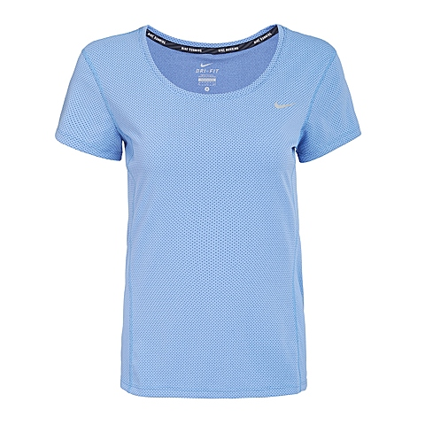 NIKE耐克新款女子DRI-FIT CONTOUR SHORT SLEEVET恤644695-486