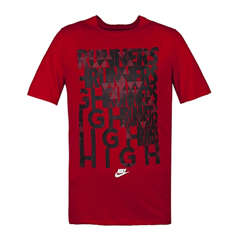 NIKE耐克新款男子TEE-RU RUNNERS HIGH TEET恤739506-657
