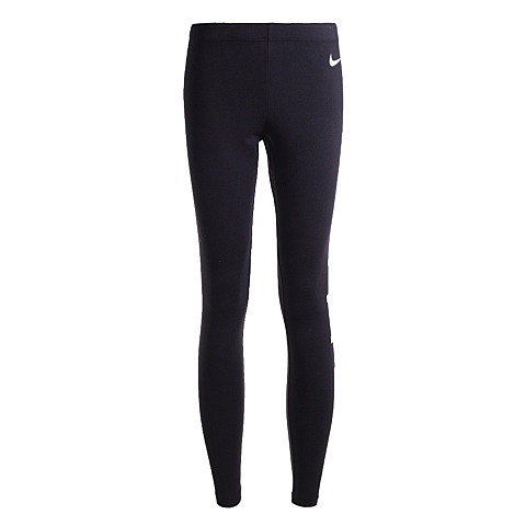 NIKE耐克新款女子NIKE CLUB LEGGING-LOGO长裤725202-010