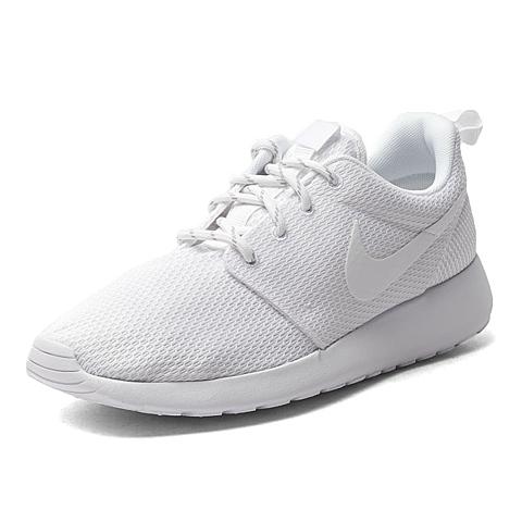 NIKE耐克新款女子WMNS NIKE ROSHE ONE 纯白 复刻鞋511882-111