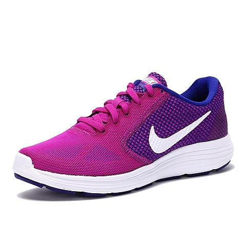 NIKE耐克2016年新款女子WMNS NIKE REVOLUTION 3跑步鞋819303-501