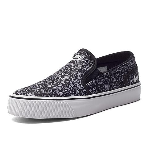NIKE耐克新款女子WMNS TOKI SLIP PRINT复刻鞋724769-010