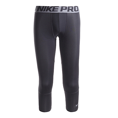 NIKE耐克新款男子HPRCL BBALL PRINT TIGHT 3QT中长裤819701-010