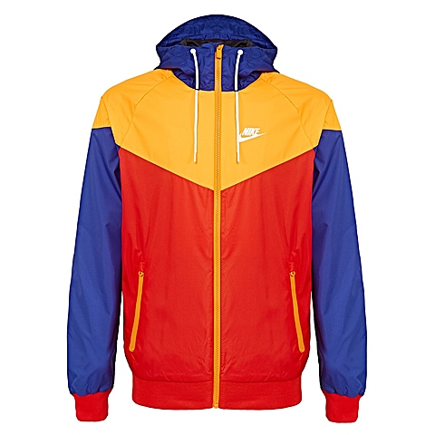 NIKE耐克新款男子AS M NSW WINDRUNNER夹克727325-671
