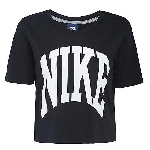 NIKE耐克新款女子AS NIKE PREP TOP-CROPPEDT恤725829-010