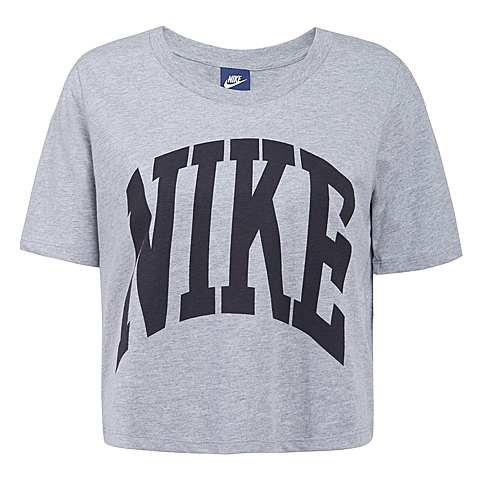 NIKE耐克新款女子AS NIKE PREP TOP-CROPPEDT恤725829-063