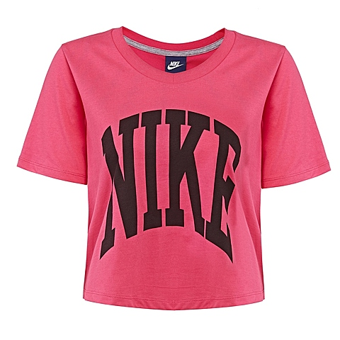 NIKE耐克新款女子AS NIKE PREP TOP-CROPPEDT恤725829-616