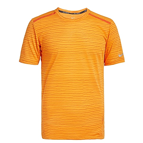 NIKE耐克新款男子DF COOL TAILWIND STRIPET恤724810-868