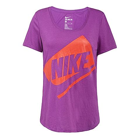 NIKE耐克新款女子TEE-BF BOX FUTURAT恤779127-556