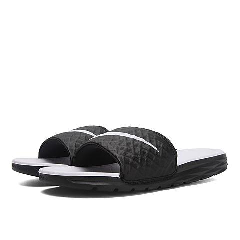 NIKE耐克2016年新款女子WMNS BENASSI SOLARSOFT拖鞋705475-010