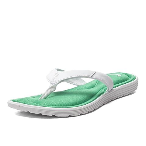 NIKE耐克新款女子WMNS NIKE SOLARSOFT COMF THONG拖鞋705512-113