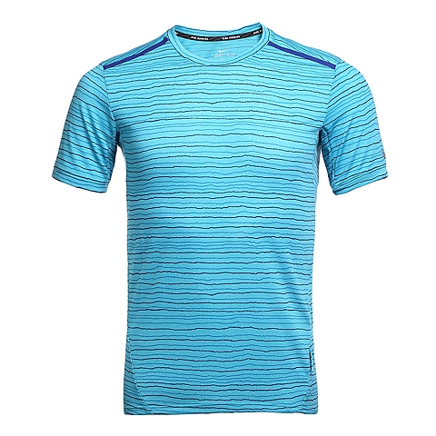NIKE耐克新款男子DF COOL TAILWIND STRIPET恤724810-418