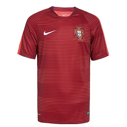 NIKE耐克2016年新款男子葡萄牙FPF球队训练服T恤725331-632