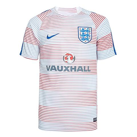 NIKE耐克新款男子英格兰ENT球队训练服T恤725380-101