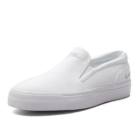 NIKE耐克新款女子WMNS TOKI SLIP CANVAS复刻鞋724770-100