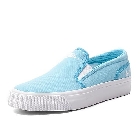 NIKE耐克新款女子WMNS TOKI SLIP CANVAS复刻鞋724770-414