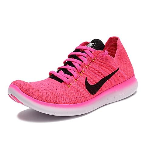 NIKE耐克新款女子WMNS NIKE FREE RN FLYKNIT跑步鞋831070-600