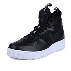 NIKE耐克2017年新款男子AIR FORCE 1 ULTRAFORCE MID复刻鞋864014-001