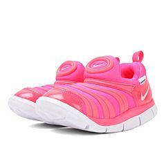 NIKE耐克2018女小童NIKE DYNAMO FREE (TD)毛毛虫复刻鞋343938-620