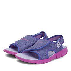 NIKE耐克2017新款NIKE SUNRAY ADJUST 4 (GS/PS)女中童凉鞋386520-504