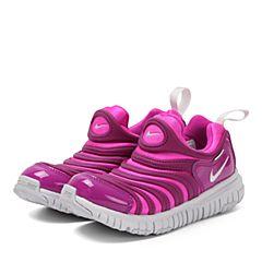 NIKE耐克2017年新款儿童NIKE DYNAMO FREE (PS)毛毛虫复刻鞋343738-622