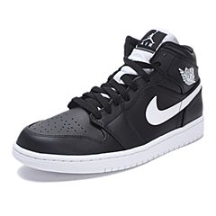 NIKE耐克2017年新款男子AIR JORDAN 1 MID篮球鞋554724-038
