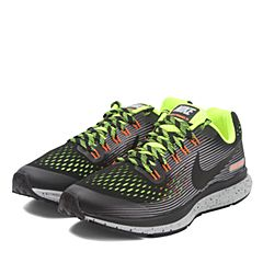 NIKE耐克男大童ZOOM PEGASUS 34 SHIELD (GS)跑步鞋922850-001